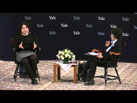 U.S. Supreme Court Justice Sonia Sotomayor Visits Yale