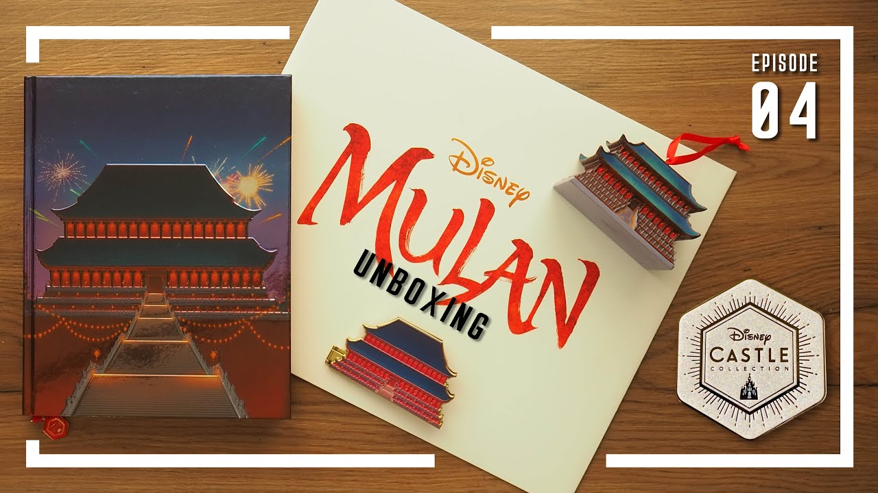Disney Castle Collection 3 10 Mulan Unboxing Ep 04 Youtube