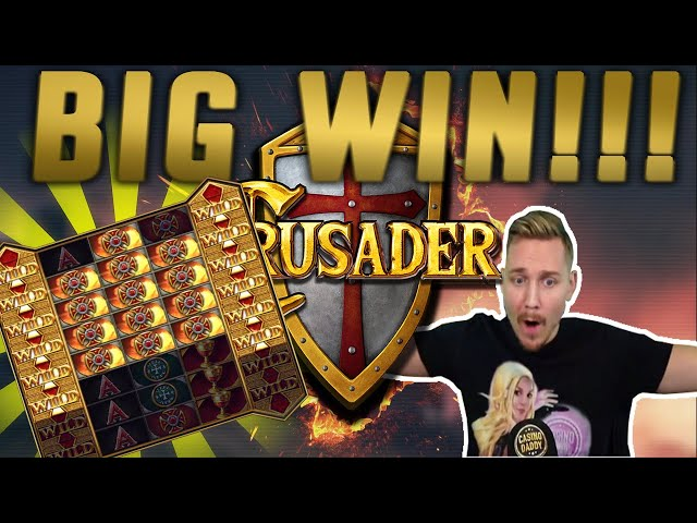 Crusader BIG WIN - New Casino slot from Elk Studios