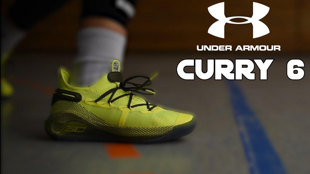 1babd1c2fc0 Under Armour Curry 6 - Performance Review - Ein solider Basketballschuh !