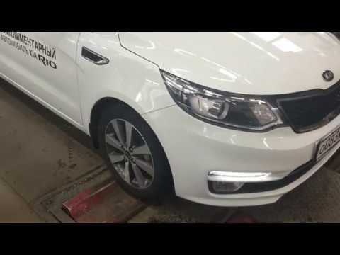 Стенд проверки амортизаторов и тормозных усилий в KIA БЦР Моторс