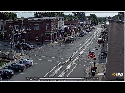 La Grange, Kentucky USA  Virtual Rail LIVE