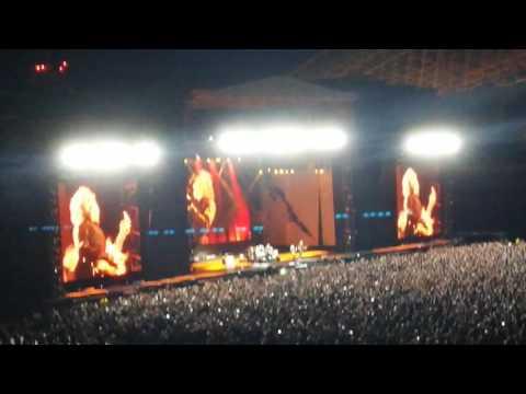 Metallica in Costa Rica 2016 - Intro - Hit the Lights