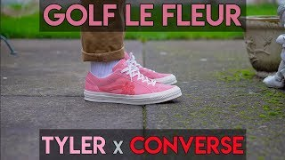 Tyler, the Creator x Converse Golf Le Fleur Review + On Foot