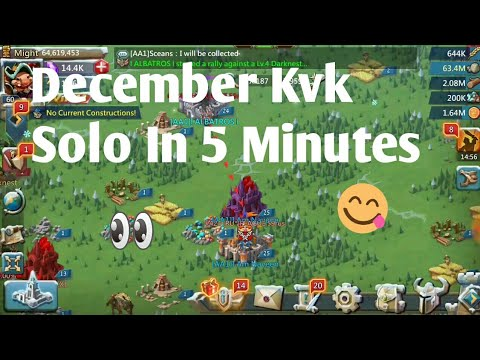 Lords Mobile Kvk December 2018 | Lords Mobile Kvk