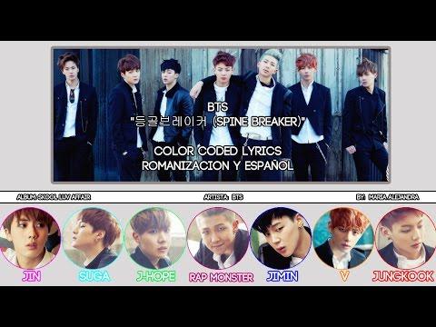 "BTS (방탄소년단) ""등골브레이커 (Spine Breaker)"" [COLOR CODED] [ROM|SUBESPAÑOL LYRICS]"