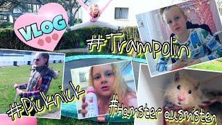 MAVIE'S VLOG #Trampolin #Hamster #Picknick #Slime #Fail  coole Mädchen