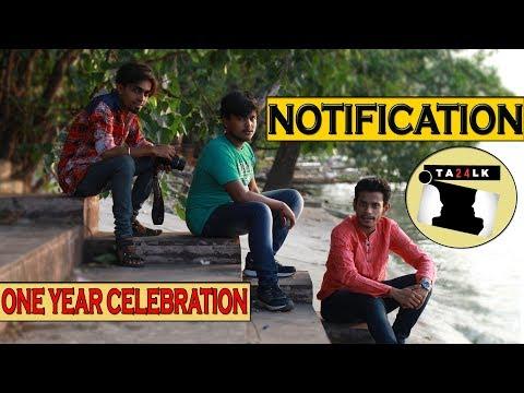 notification-song-||-one-year-celebration-||-ta24lk-||-2018