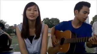 Hà Nội mùa vắng những cơn mưa - Guitar cover by Miss Oanh