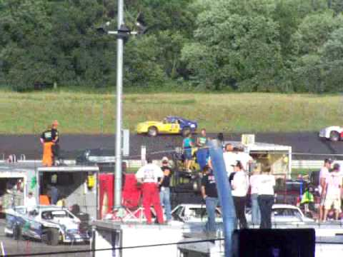 Adams County Speedway Heat Race 6 27 09