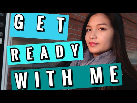 GET READY WITH ME IN LUXEMBOURG! | EVERYDAYTRAVEL MAKEUP  |FANCY BATHROOM TOUR