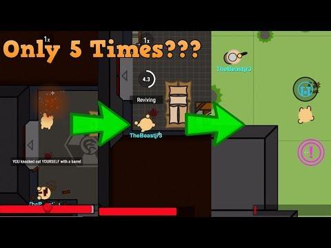 Surviv.io How Many Times Will Random Squads Revive You??? (Surviv.io Social Experiment)