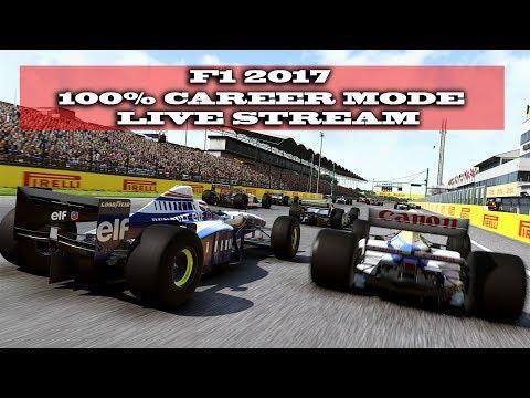 Gaming :F1 2017 / 100 % Career Mode Azerbaijan Grand Prix (Live Stream)