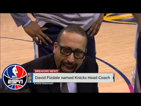 Woj: David Fizdale named head coach of the New York Knicks | NBA Countdown | ESPN