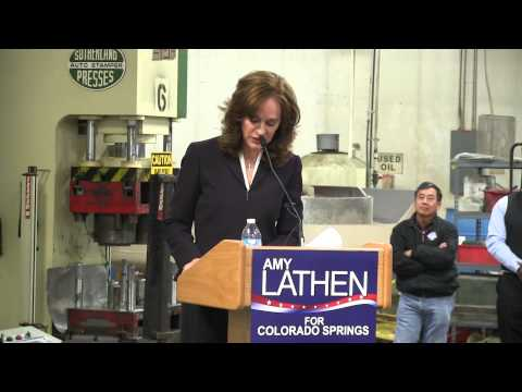 Amy Lathen announces Colorado Springs mayoral run