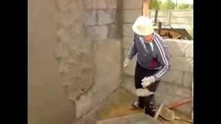 Tynkowanie ( perypetia mozolnych robót na budowie)