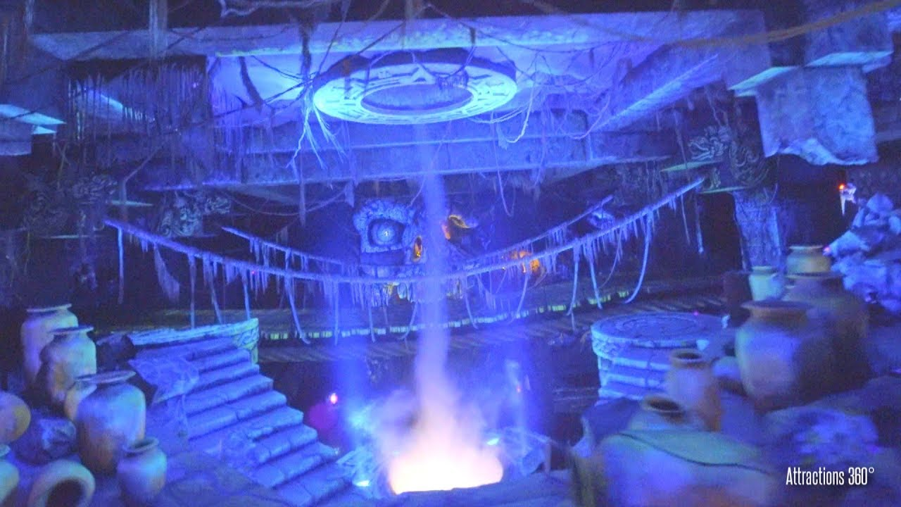[4K] Indiana Jones Ride with Tornado at Tokyo DisneySea - Tokyo Disney  Resort