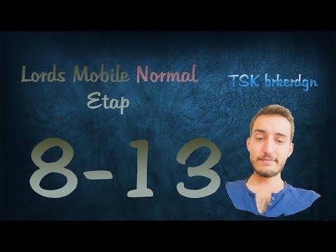 Lords Mobile Normal Etap 8-13