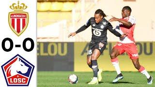 Монако Лилль 0 0 Обзор Матча Чемпионата Франции 14 03 2021 HD