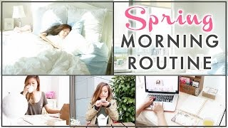 SPRING MORNING ROUTINE | WAKE UP WITH ME | ilikeweylie