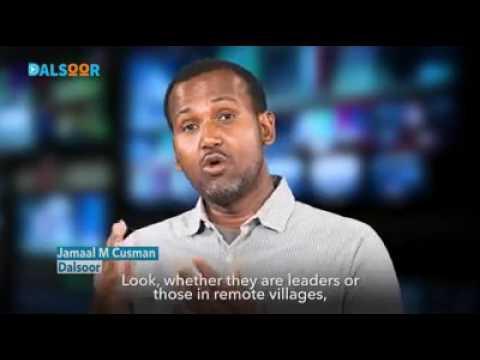 Somalia Somalie Economic Isolation. Food stolen by WFP. Alsoor channel. JAMAAL M CUSMAAN