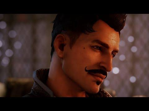 Dragon Age: Inquisition. Dorian Romance (all scenes)