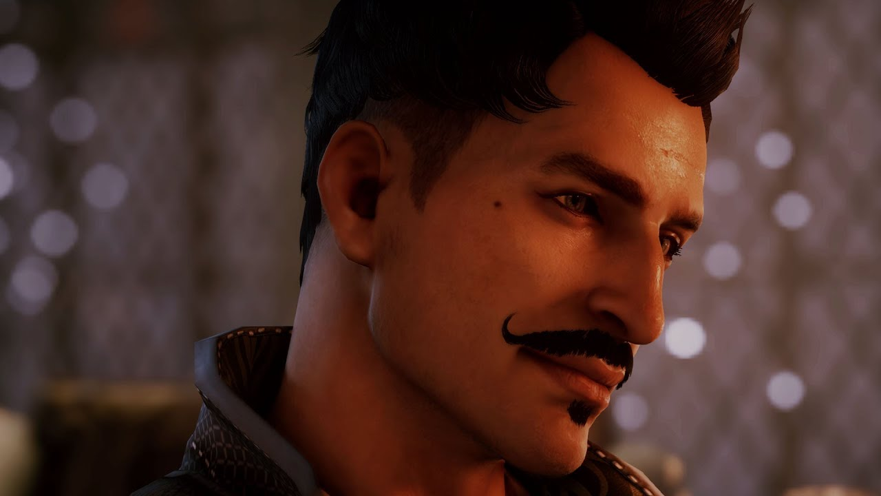 dragon age inquisition flirting with dorian as female