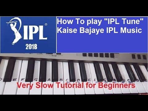 IPL music(Tone) on Piano Easy piano notes  Harmonium KeyboardTutorial Easy Tutorial