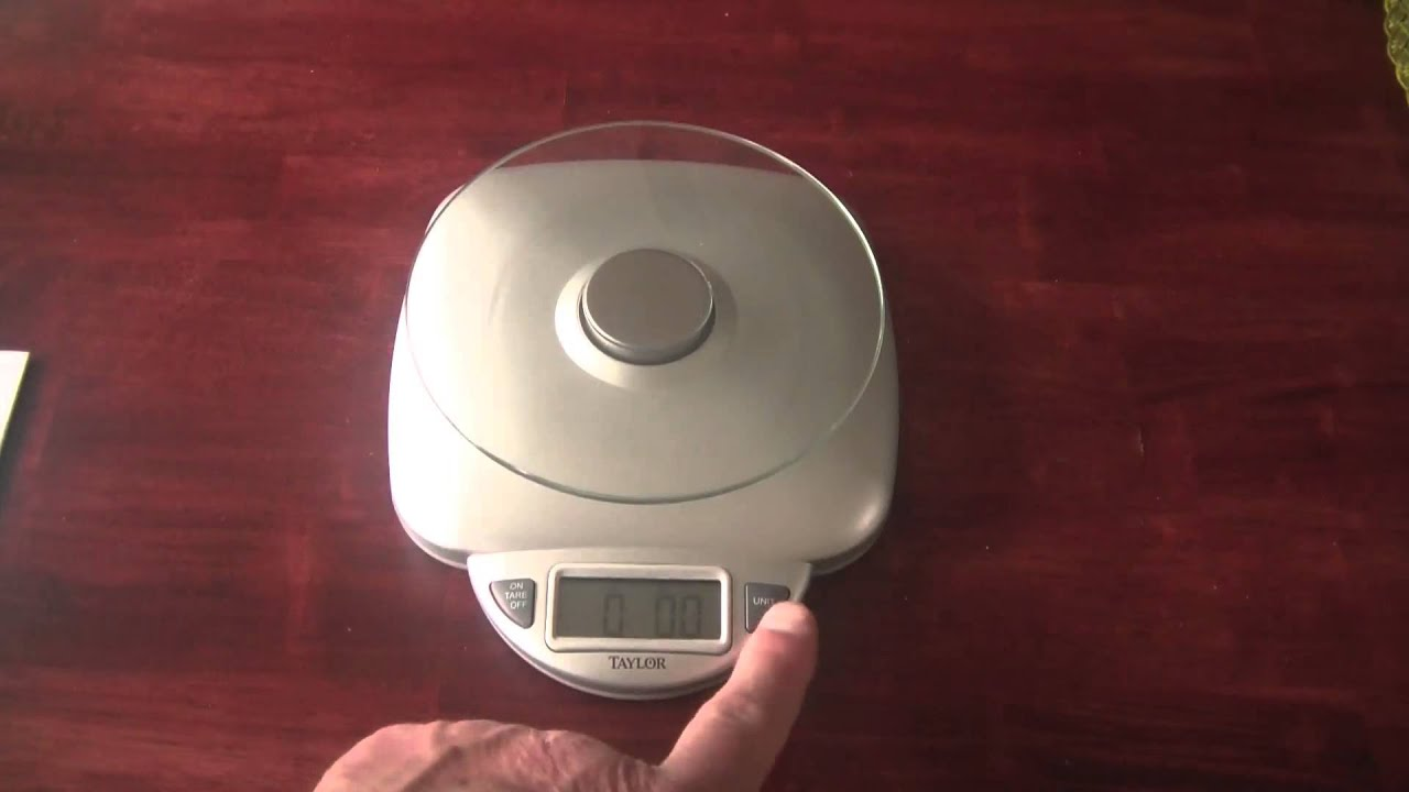 Nice Review Taylor Glass Digital Food Scale 3842   YouTube