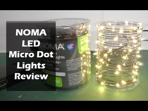 NOMA Micro Dot Lights Review YouTube