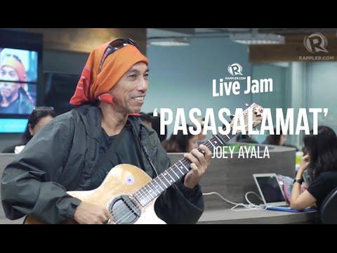 Rappler Live Jam: Joey Ayala – 'Pasasalamat'