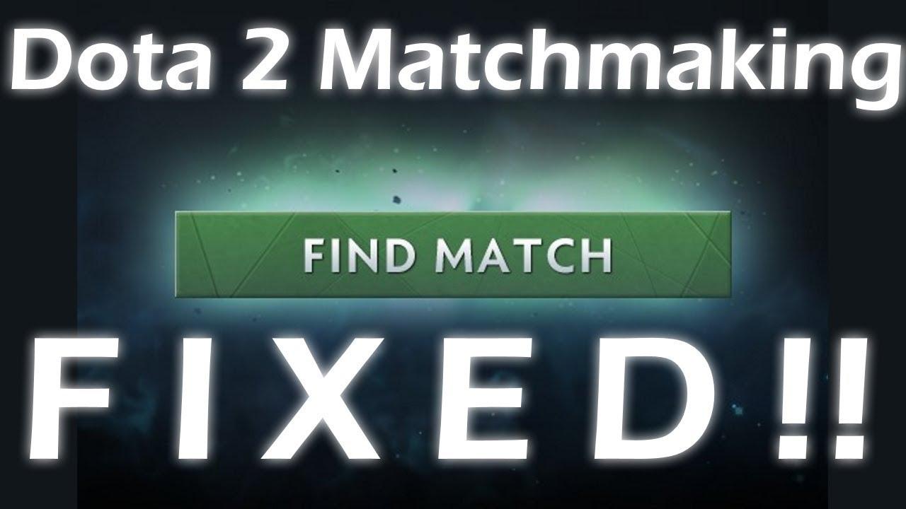 Sito di matchmaking di Dota 2