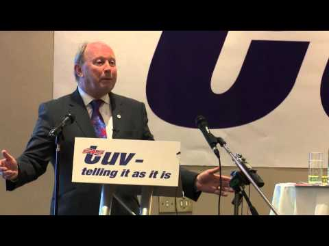 TUV Annual Conference 2015: Jim Allister