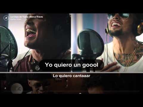 La Copa de Todos...Carlos Vives---Letra--HD