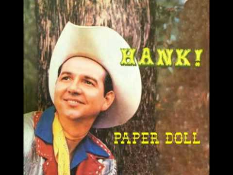 HANK THOMPSON - Paper Doll