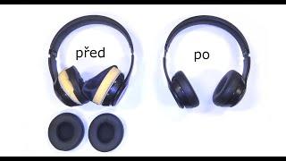 Výměna náušníků sluchátek Beasts Solo 2, Solo 3 Wireless