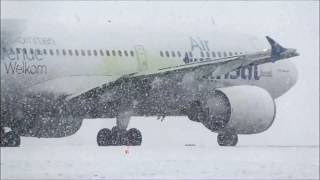 Heavies in Heavy Snow at Toronto Pearson YYZ Feb. 2017 thumbnail