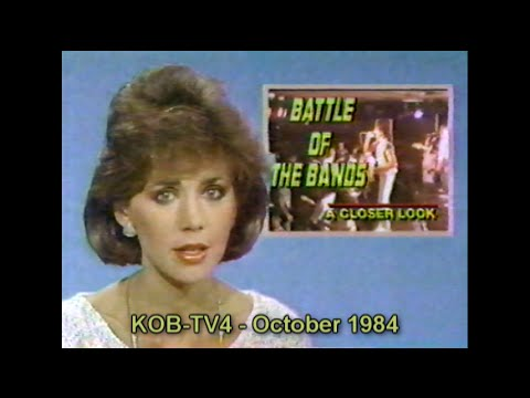 1984 KOBTV report on the Albuquerque Battle of the Bands