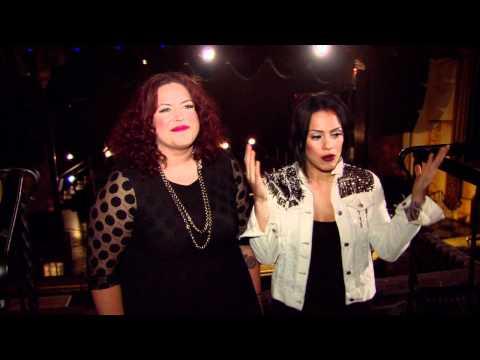 The Voice Season 2 Contestant Interview - Erin Willett & Jordis Unga