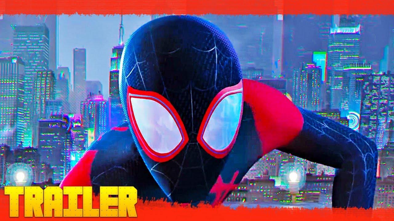 Spider Man Un Nuevo Universo 2018 Tráiler Oficial Español Latino Youtube
