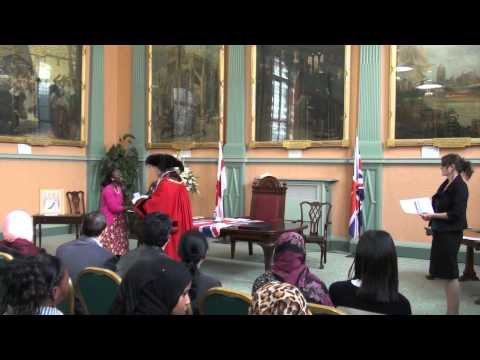 British Naturalisation Ceremony, Bristol, 18th October 2012