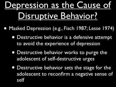 Depression in Children and Adolescents - Part 1