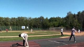 russtar vs beavers - end 5th - dugout - (13/18) - 28.08.2011