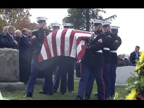 Funeral of Col. John W. Ripley - US Marine Corps Legend and Hero (Updated)
