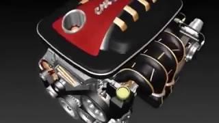 3D comment un moteur de voiture fonctionne   YouTube