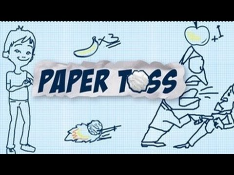 Paper Toss 2015 Android GamePlay Trailer