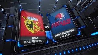 DEL2 Highlights 35. Spieltag | ESV Kaufbeuren vs. Heilbronner Falken