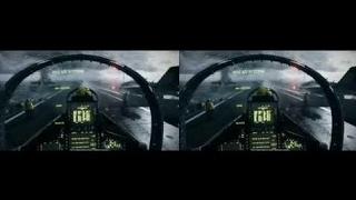 3D F-18戦闘機素晴らしい3D Sbs戦場3 3D映画館のボール紙 ...
