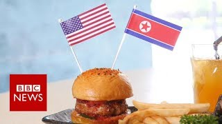 Trump-Kim summit: Can you achieve peace on a plate? - BBC News
