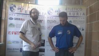 Interviste post partita Atletico Etruria-Geotermica